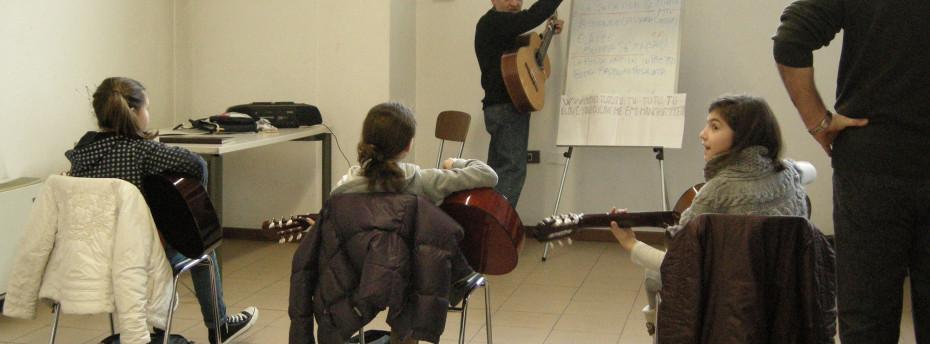 Corso di chitarra per ragazzi